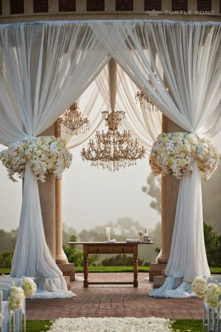 using tulle in many wedding decoration ideas wedding stuff ideas. Black Bedroom Furniture Sets. Home Design Ideas