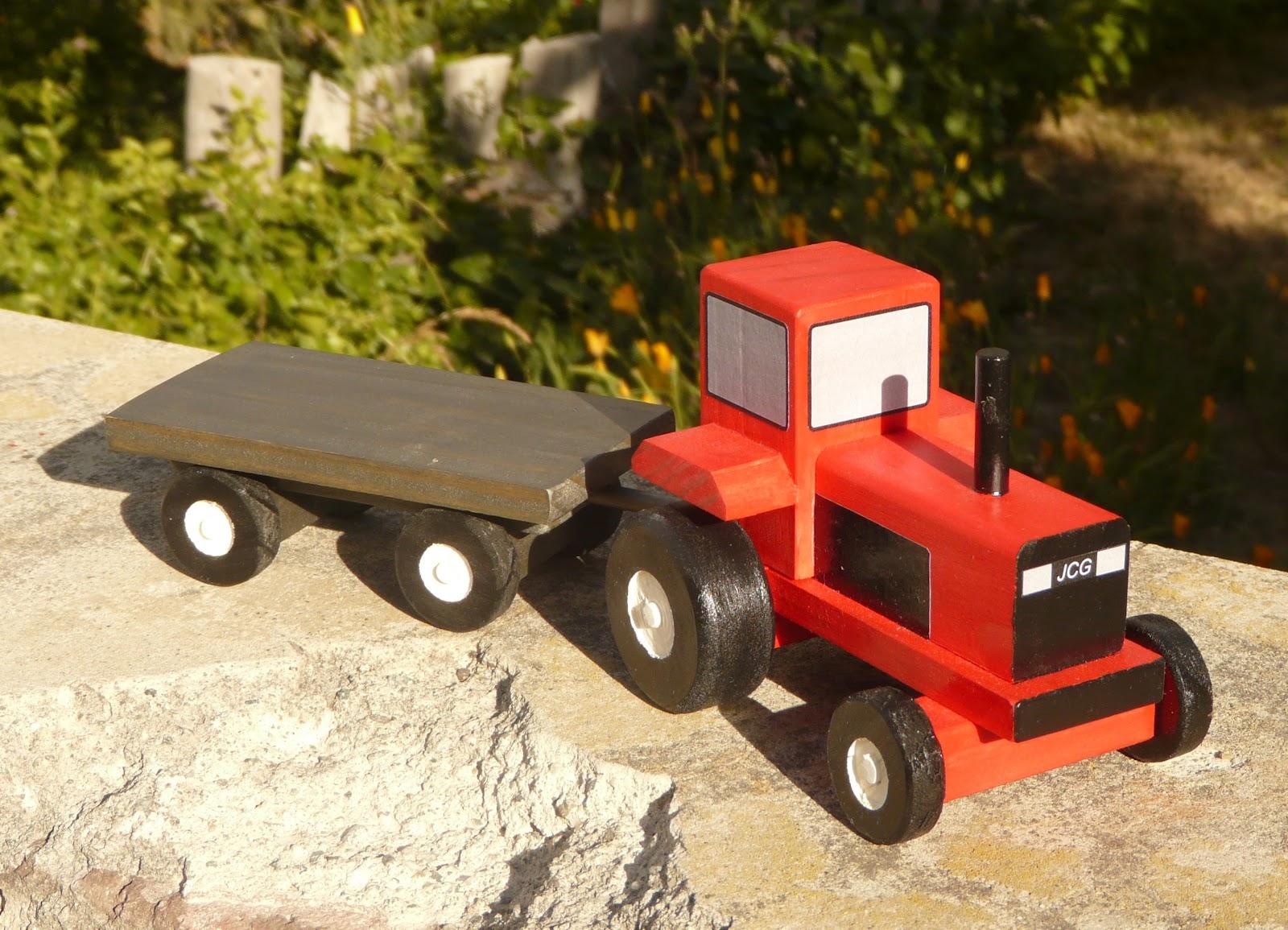 Mis juguetes en madera tengo un tractor amarillo for Planos de madera