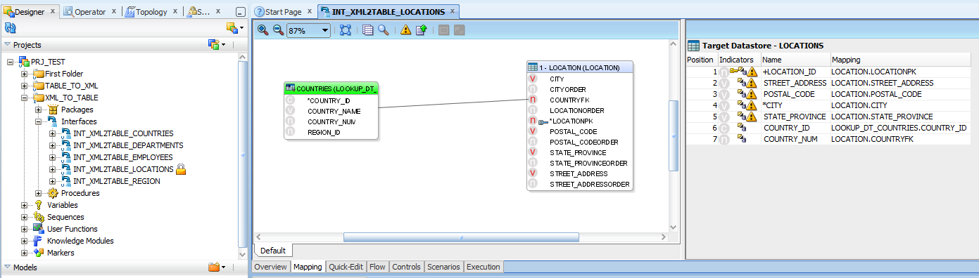 Oracle data integrator tutorials reading from xml file in for Table design in xml