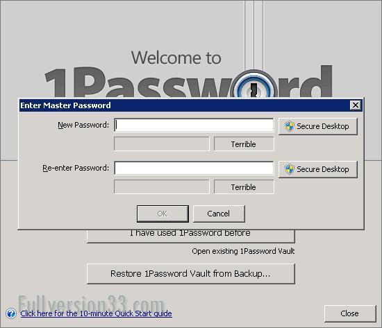 1Password for Windows