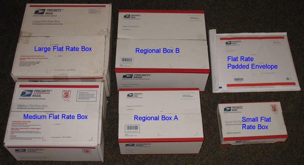 United States Postal Service - Ups Large Flat Rate Box