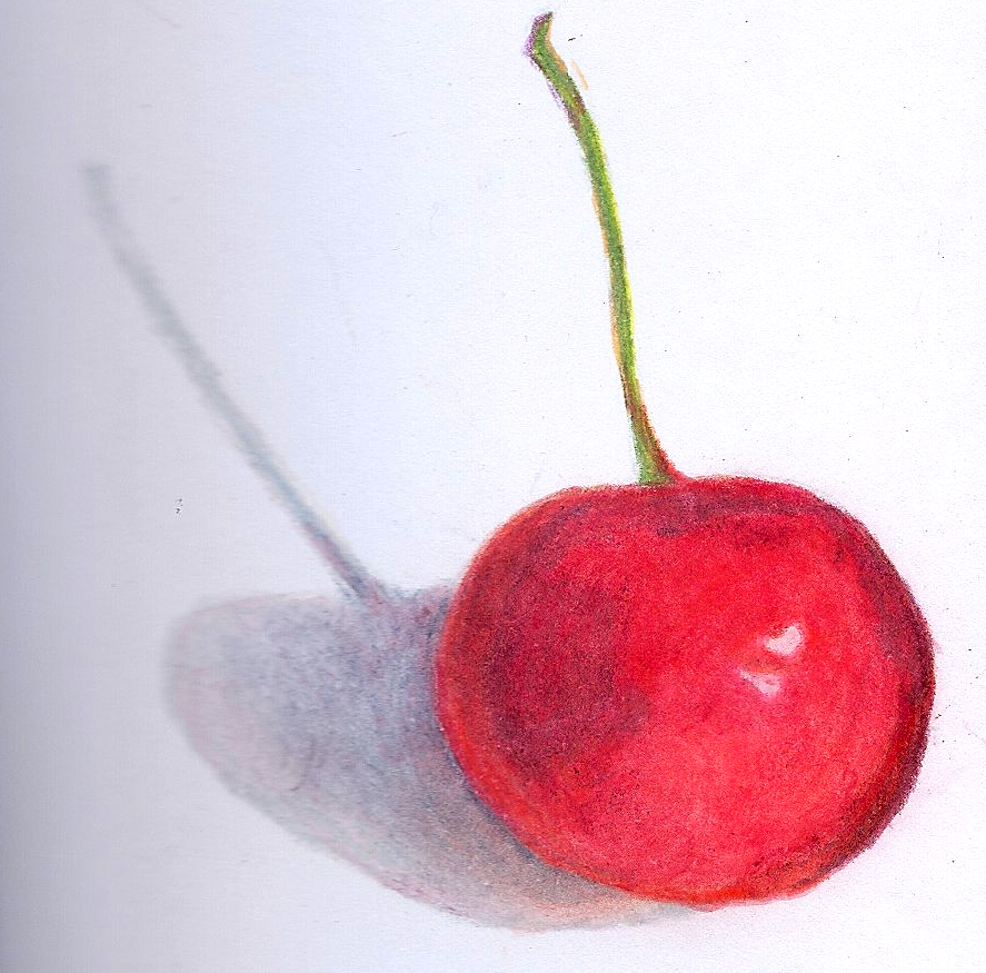 how to make colored cherries