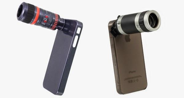 Objetivos para iPhone 4 que incrementan el zoom optico del movil