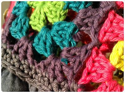 Robe granny au crochet coton et lin