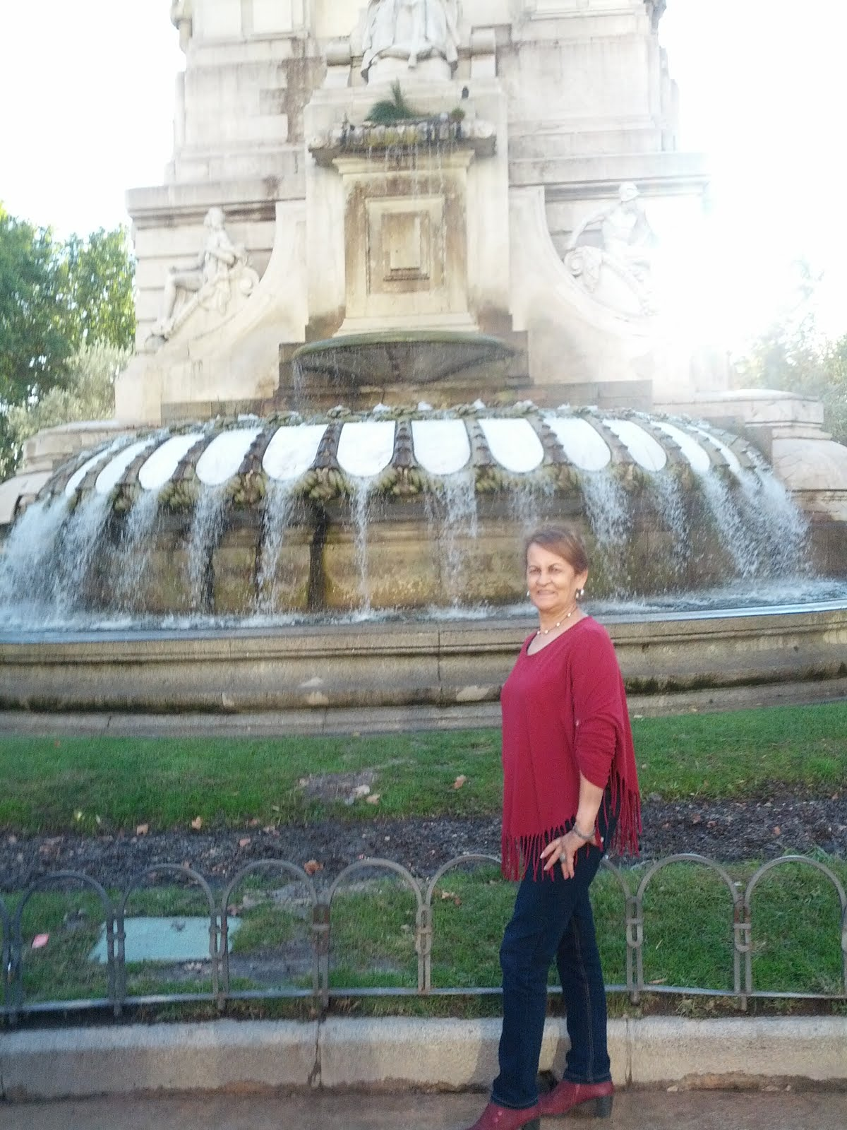 En plaza ESPAÑA ( MADRID )