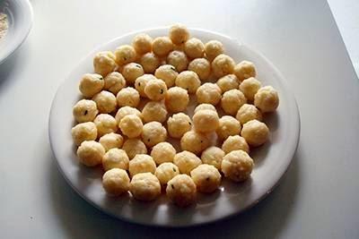 Polpettine di riso in brodo: sesto passaggio