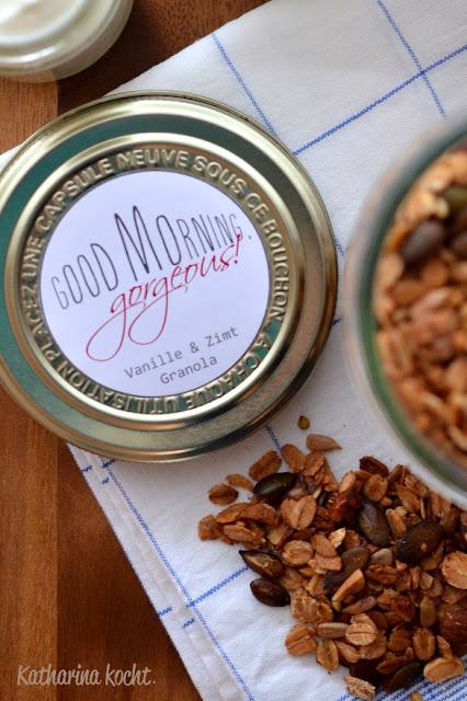Granola Zimt Vanille zuckerfrei ohne Zucker Buchweizen