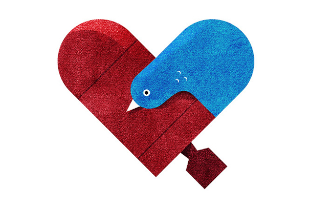 Versus/Hearts by Dan Matutina - War & Peace