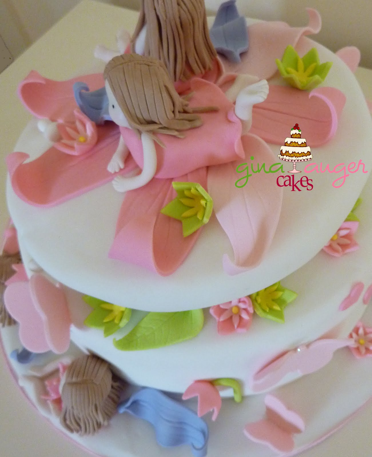 Birthday Cake Pic For Little Girl : Top That!:  Sweet Little Girls  Birthday Cake