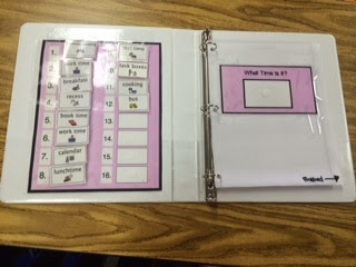 Daily Visual Schedule- Binder Edition - The Autism Adventures of ...