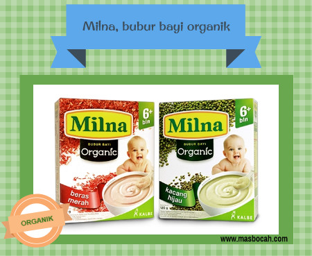Milna bubur bayi organik