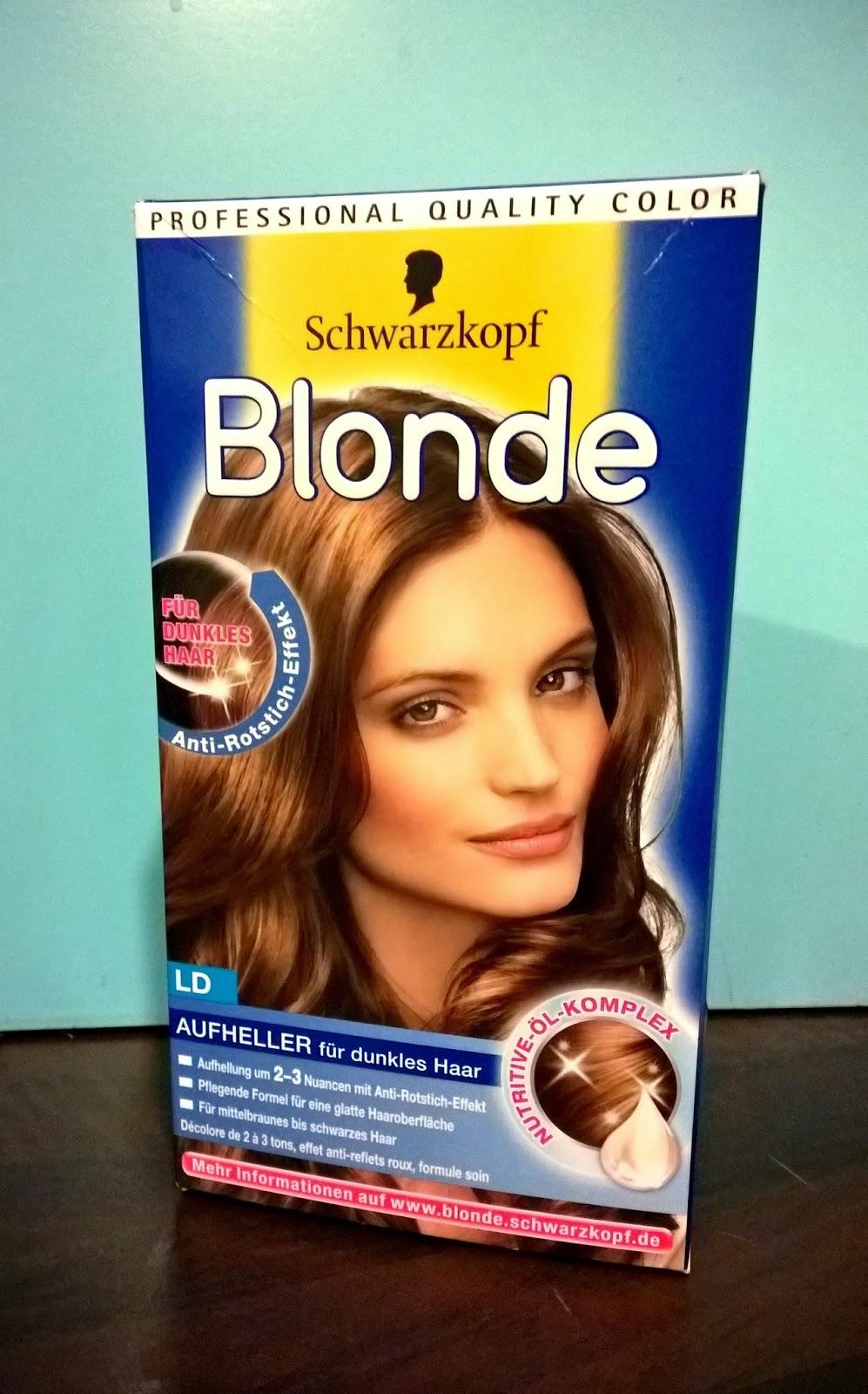 Schwarzkopf blonde ld fur dunkles haar