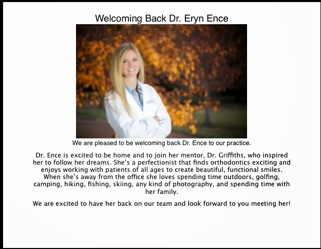 Welcoming Back Dr. Ence