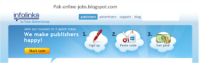 Earn money from infolinks
