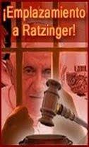 Emplamiento a Ratzinger: