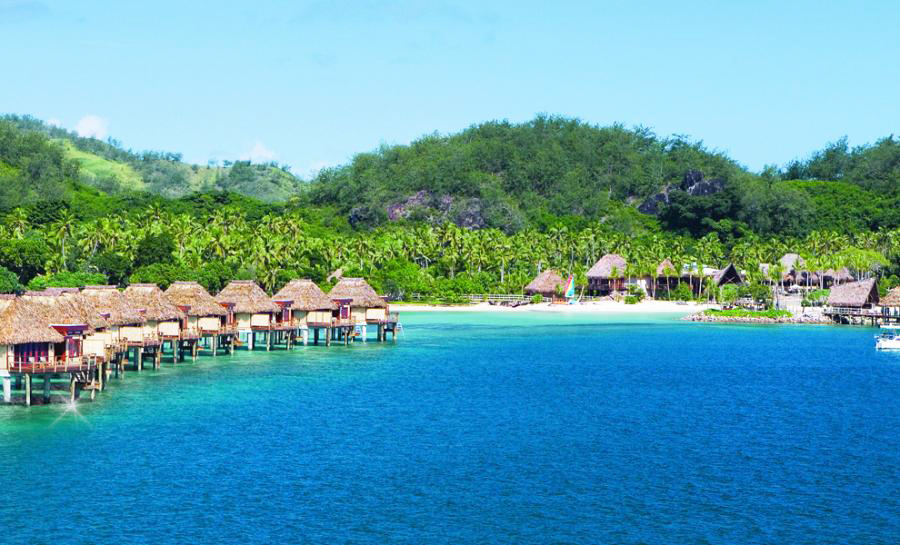 Likuliku lagoon resort fiji islands the simply Overwater bungalows fiji