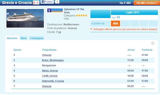 Crociere Grecia, Croazia e Turchia! Offerte Mediterraneo Orientale
