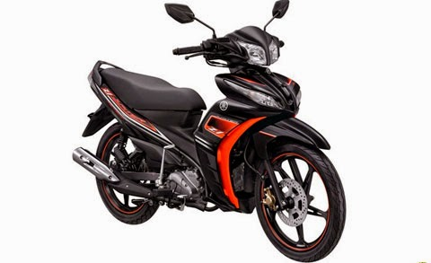 yamaha jupiter z1 2015 Black Double Winner