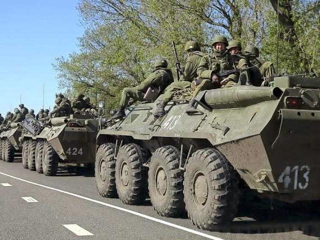 Rússia INVADE a Ucrânia