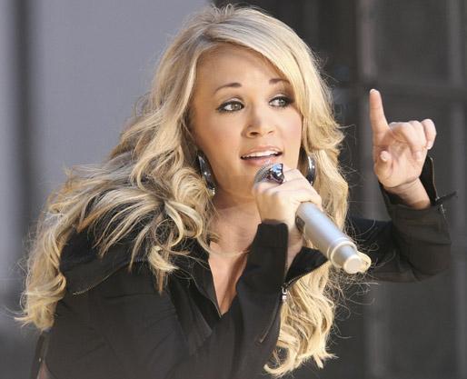 Carrie Underwood Hair Style: Celebrity Hairstyle: Carrie Underwood Hairstyles For 2012