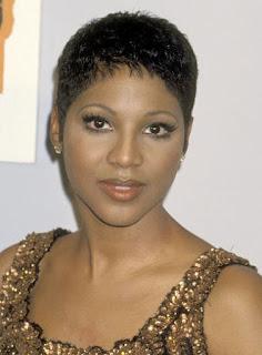 Short hair black woman