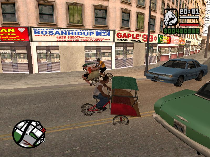 Gta Cheat Grand Theft Auto San Andreas Versi Indonesia