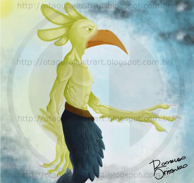 WIP - Homem Pássaro!