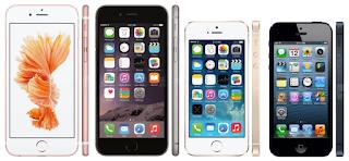 tipe semua iphone