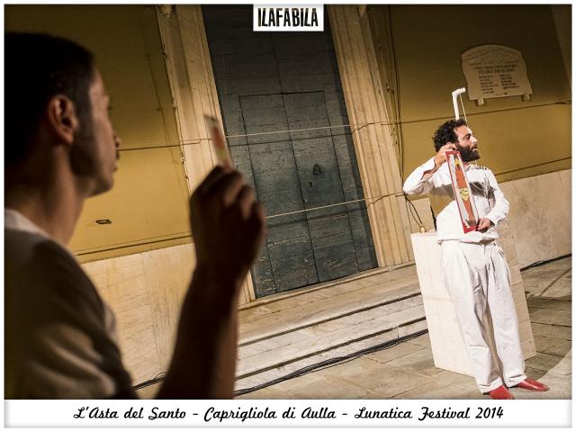Quando il Santo va all'Asta: gli Omini e Caprigliola - Lunatica Festival 2014 - Francesco e Luca