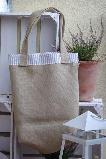 torba na zakupy, torba eko, lniana torba, torba z lnu rękodzieło