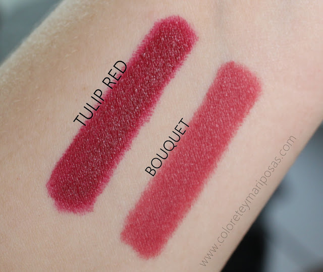 Swatches Labiales lord berry