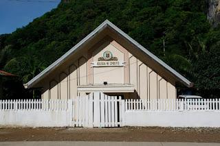 Iglesia del pueblo de El Nido.