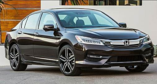 2016 Honda Accord Refresh USA