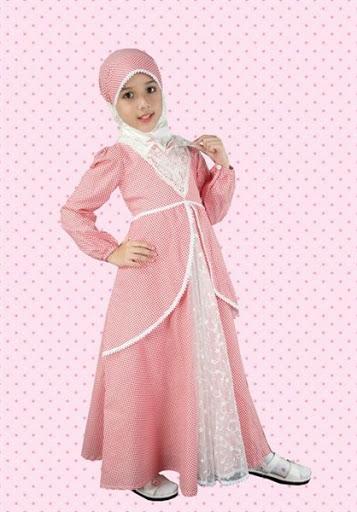 21 model baju muslim anak perempuan terbaru 2017 2018 Baju gamis anak terbaru 2016