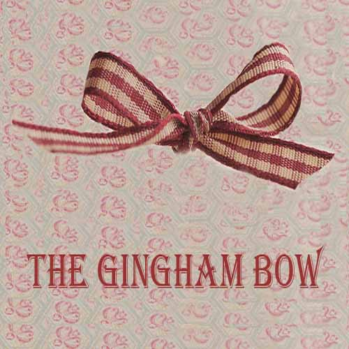 The Gingham Bow