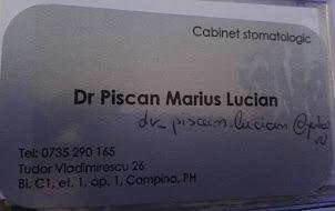 19. DR. STOMATOLOG PISCAN MARIUS LUCIAN --CAMPINA