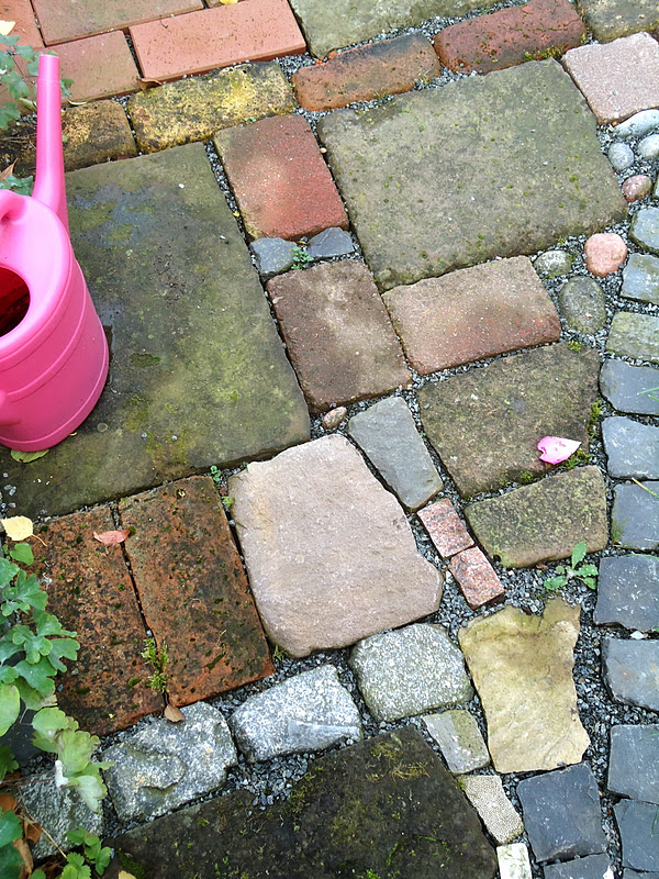 summer gardening pavers