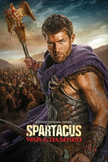 Spartacus War of the Damned TV series poster