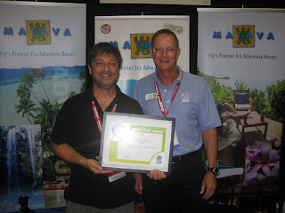 Richard Akhtar of Matava and Mike Holme of PADI Asia Pacific
