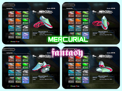 PES 2013 Nike Mercurial Fantasy Boot by Jayk