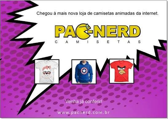 Pac Nerd Camisetas