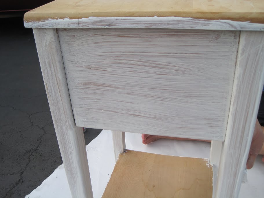 White Pine Furniture How To Whitewash