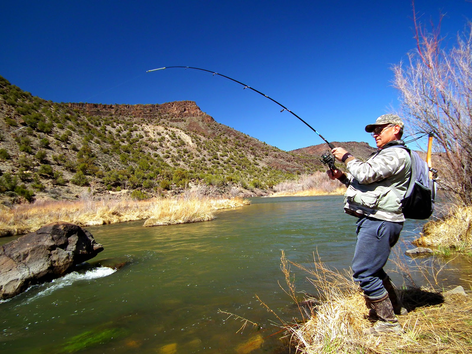 Outdoors nm spring fishing a best bet as nm heads into for Fishing new mexico