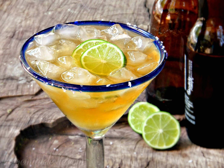 Beer Margarita - lacocinadeleslie.com