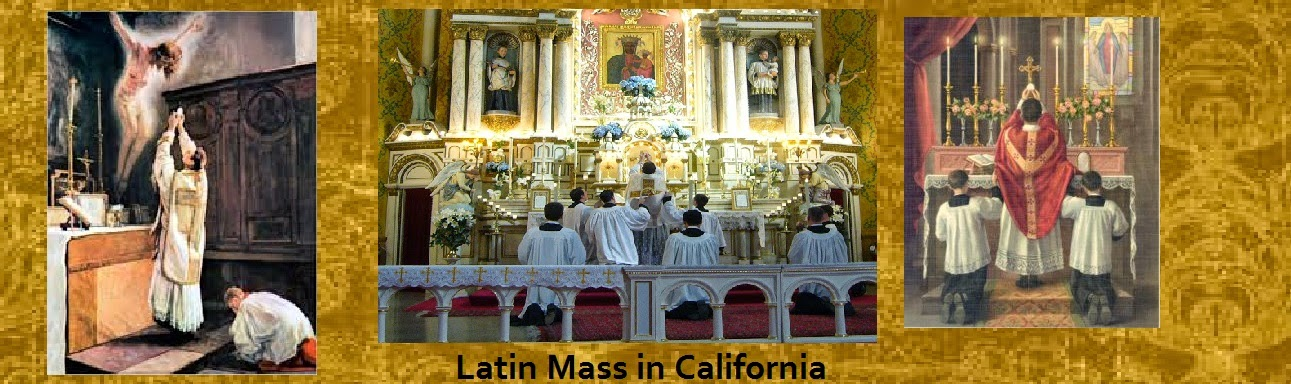 Latin Mass California