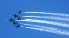 The Blue Angels. They put on a wonderful show, and the day couldn't have been more perfect!