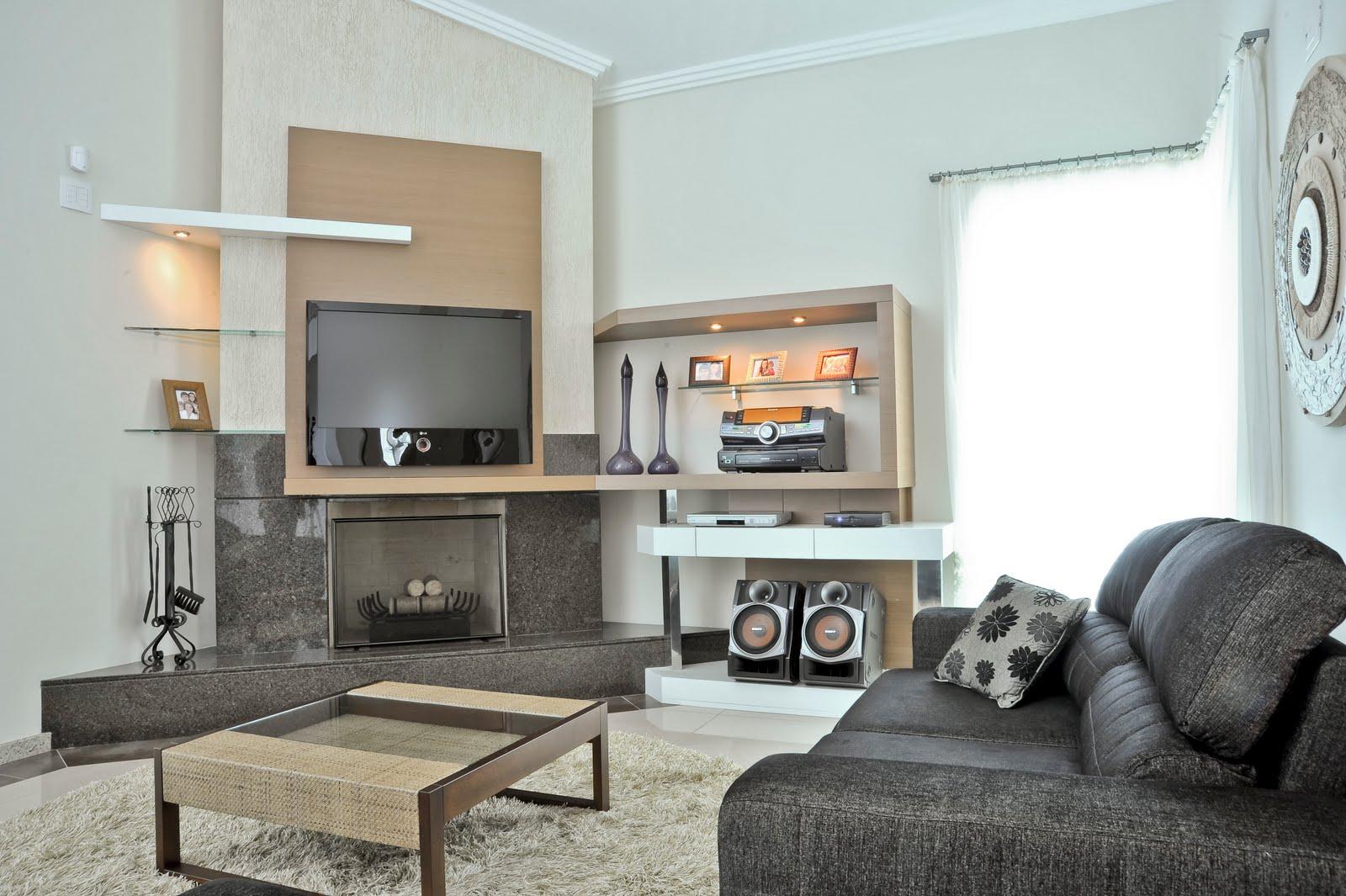 Lareira Na Sala De Tv ~ Apesar de estar sendo muito utilizada nos projetos de interiores