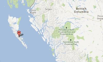 epicentro terremoto en canadá 28.10.2012