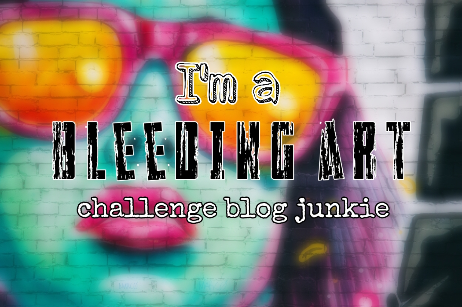 Bleeding Art Challenge