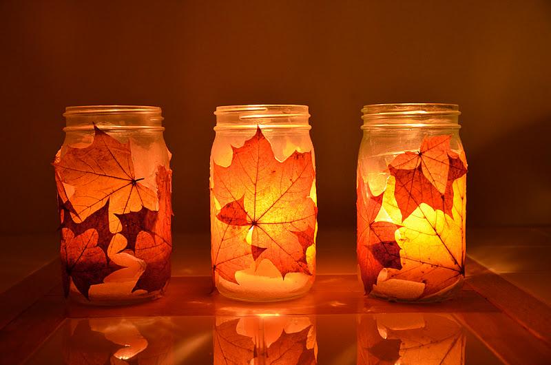 no wooden spoons autumn lanterns tutorial